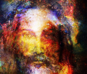 hidden Jesus face