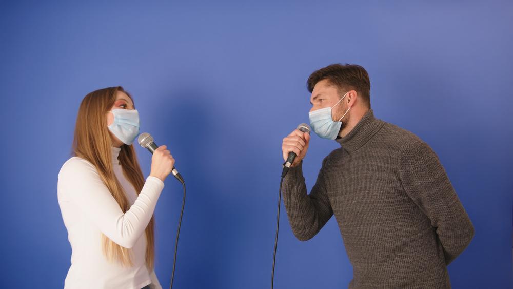 singing through masks